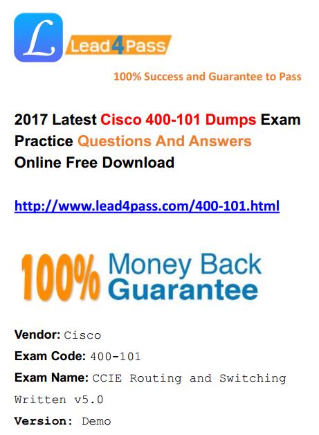 400-101 dumps
