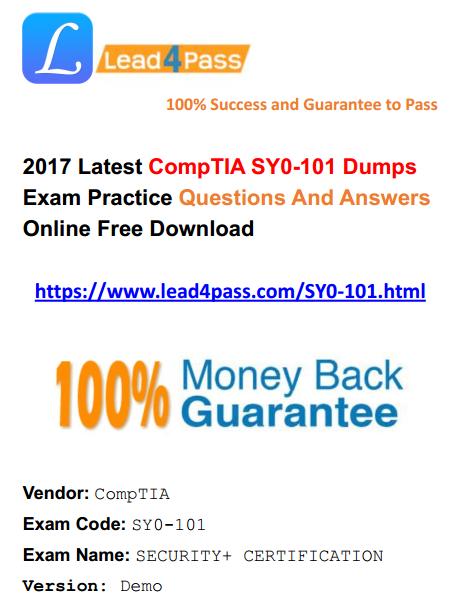 SY0-101 dumps