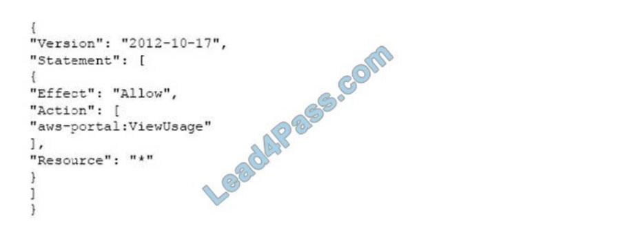 [2021.4] lead4pass soa-c01 practice test q13
